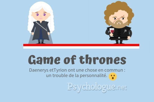 Psychologie des personnages de Game of Thrones