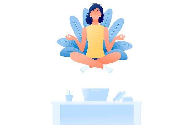 Exercices pour diminuer le stress et retrouver un sommeil reposant