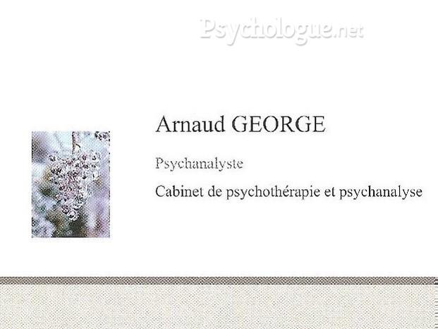 Carte De Visite Arnaud George